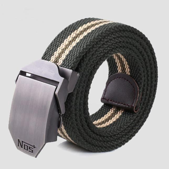 2e744434b2e0 Hommes boucle carrée ceinture de taille sport courroies-HYM60715322GN 1001