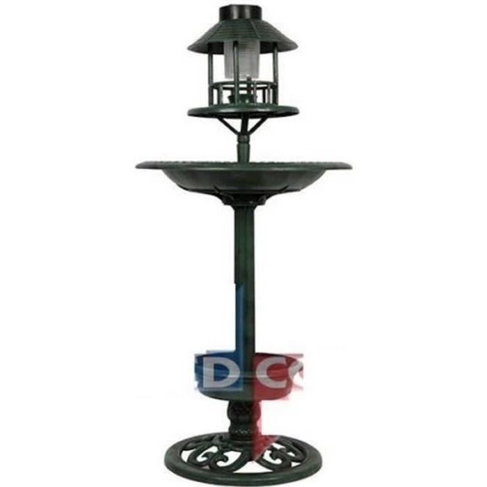mangeoire oiseaux abri fontaine deco jardin lampe solaire pot fleur pied achat vente. Black Bedroom Furniture Sets. Home Design Ideas
