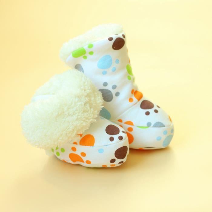 Chaussons bébé Petites empreintes de pas
