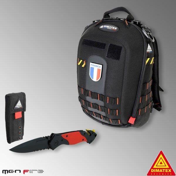 86fe197d08 Pack Sac MATT + couteau Rescue - Dimatex - Achat / Vente sac à dos ...