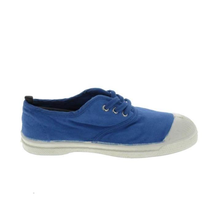 Bensimon Toile Lacet H Bleu Bleu Clair - Chaussures Baskets basses Homme
