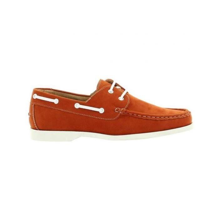 Chaussure bateau Reservoir Shoes Orange