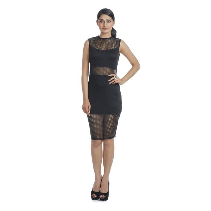 Womens Sleeveless Dress SP8Q8 Taille-40