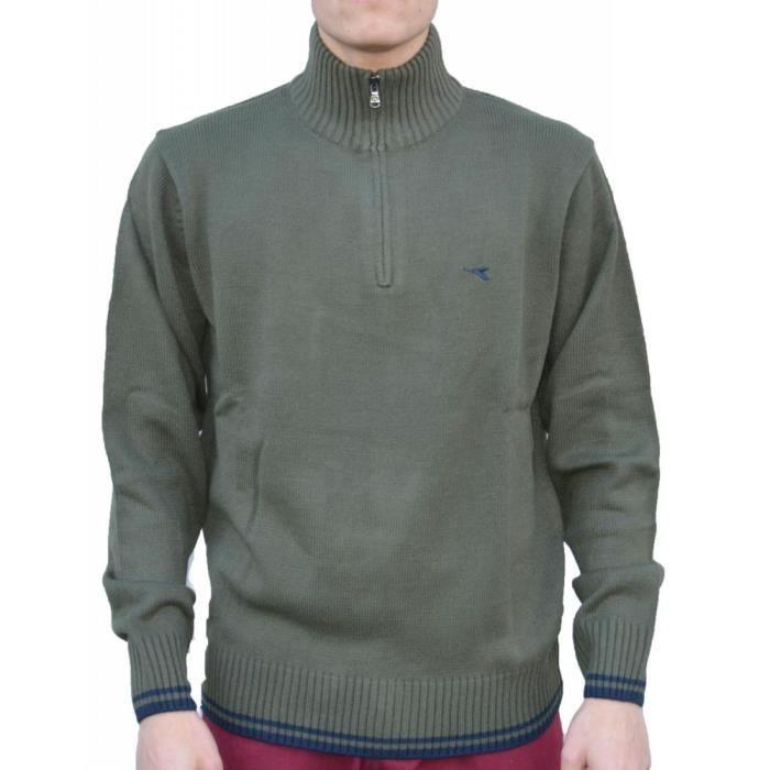 Diadora - Diadora Homme Pullover Vert onfiPAm