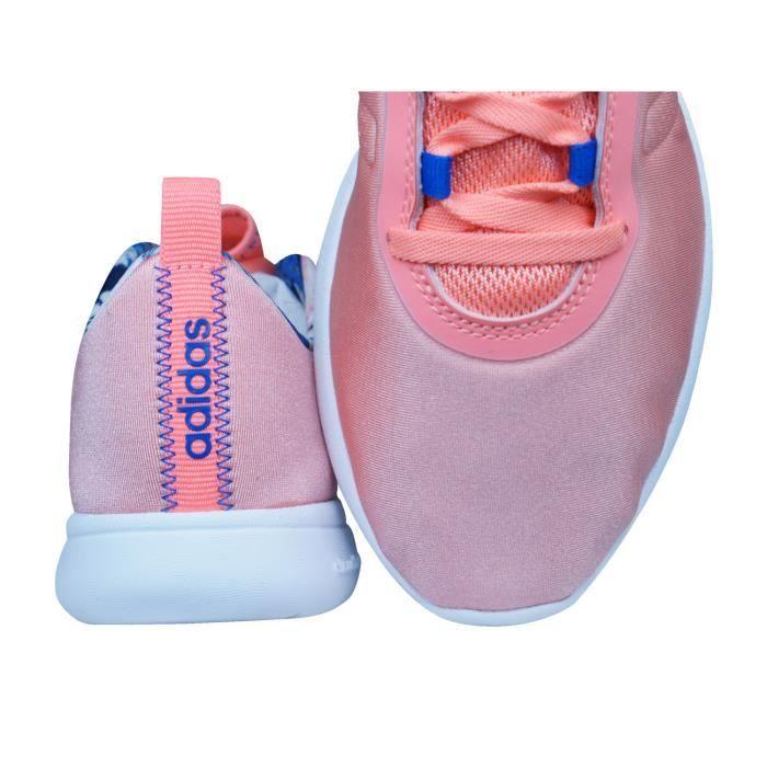 adidas Neo Cloudfoam Pure Femmes chaussures de course Pêche 3.5