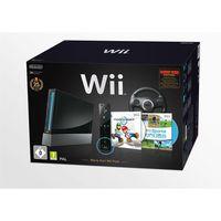 CONSOLE WII Pack Wii Noire Mario Kart 25è anniversaire