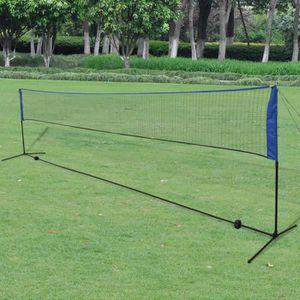 FILET DE BADMINTON Filet de badminton avec volants 600 x 155 cm