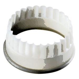 EMPORTE-PIÈCE  DECOUPOIR ROND CANNELE POLYGLASS 5 cm
