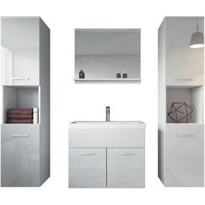 Meuble salle de bain 60 cm achat vente pas cher - Meuble salle de bain 60 cm pas cher ...