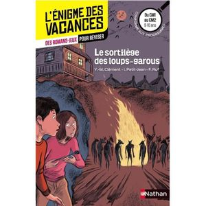 DOCUMENTAIRE ENFANT L'ENIGMES DES VACANCES Le sortilège des loups-garo