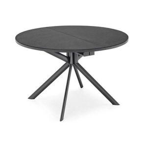 TABLE À MANGER COMPLÈTE Table de repas extensible ronde TULIPE QUATTRO 120