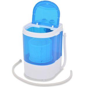 LAVE-LINGE Mini Machine à Laver à Cuve Unique Jusqu'à 2,6 kg