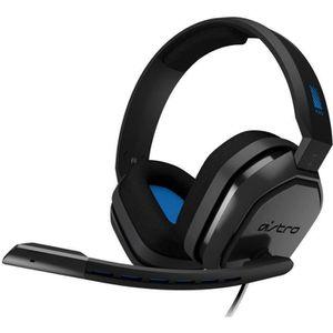 CASQUE  - MICROPHONE ASTRO Casque Gaming A10 Noir et Bleu - Compatible