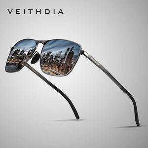 LUNETTES DE SOLEIL Hommes Vintage lunettes de soleil carrées polarisé