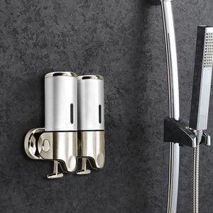 DISTRIBUTEUR DE SAVON 2x400ML Distributeurs savons Shampoo porte-savons