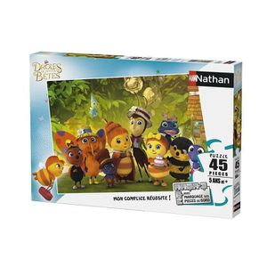 PUZZLE DROLES DE PETITES BETES Puzzle 45 pcs