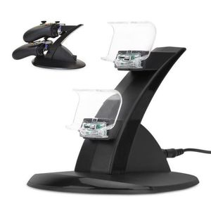 CHARGEUR CONSOLE YSFMODE® Chargeur double LED Mont Dock USB support