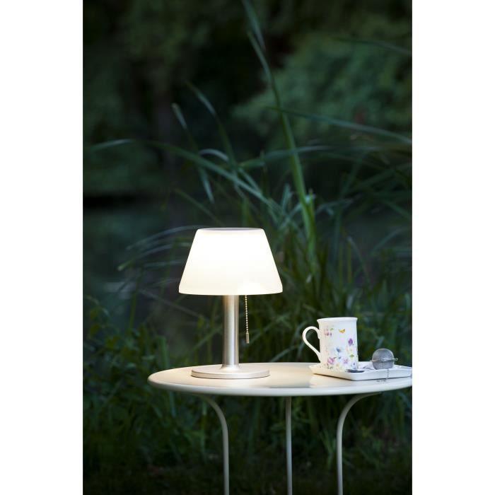 galix lampe de table solaire g2 tres clairante avec. Black Bedroom Furniture Sets. Home Design Ideas