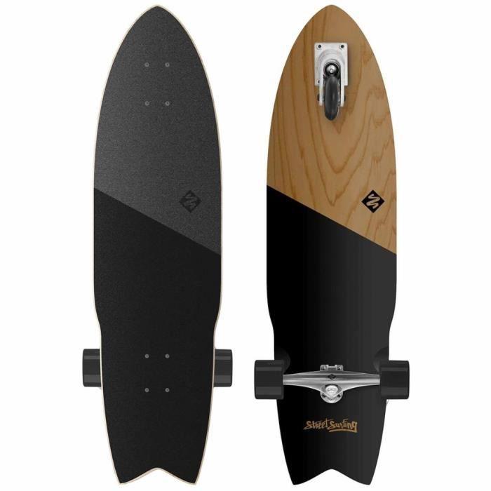 PLANCHE À ROULETTE  Street Surfing Planche à roulettes Shark Attack 91