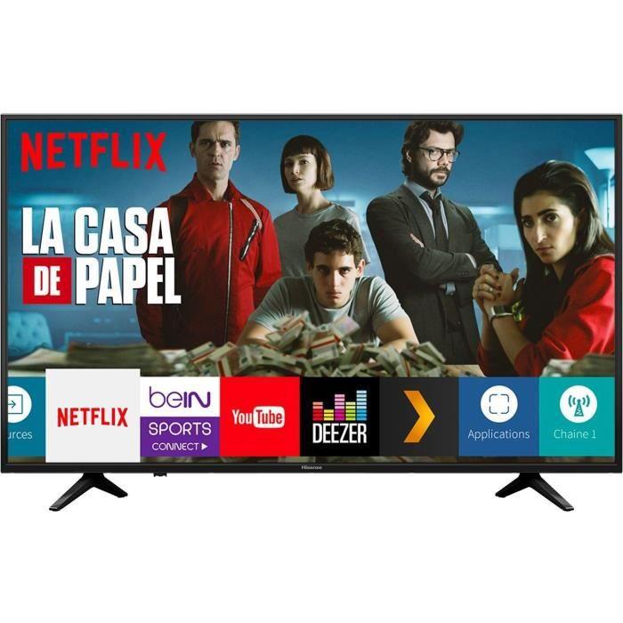 Téléviseur LED HISENSE H50A6140 TV LED 4K UHD -50'' (126cm) - HDR
