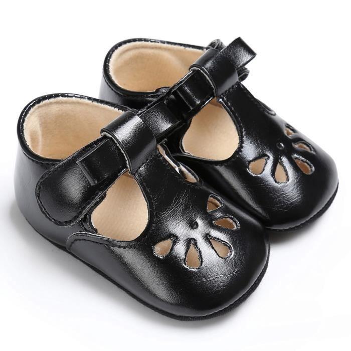 Estimetown®Bébé enfants fille garçons douces berceaux Sole nouveau-née glandes sandales Chaussures MARRON@WTX0928002 2T3AqUHrMm