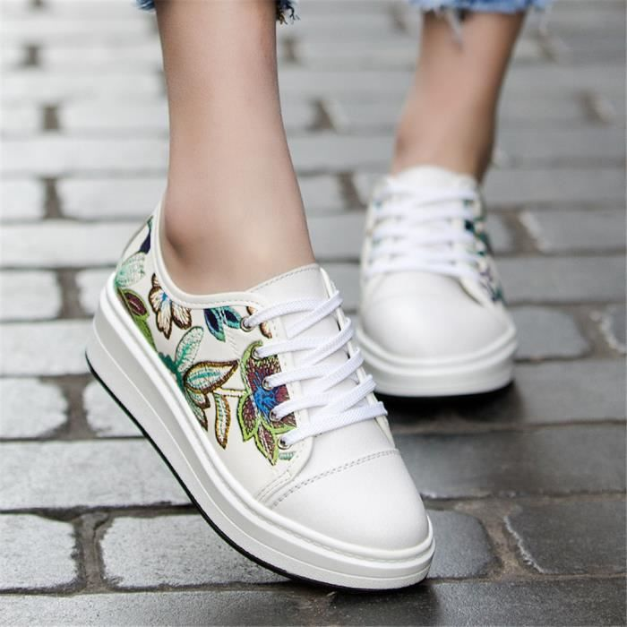 Femme Couleur Luxe Qualit Plus Classique De Sneakers Personnalit Ms Chaussures Suprieure Respirant Baskets Cool Marque gWwRqdFg