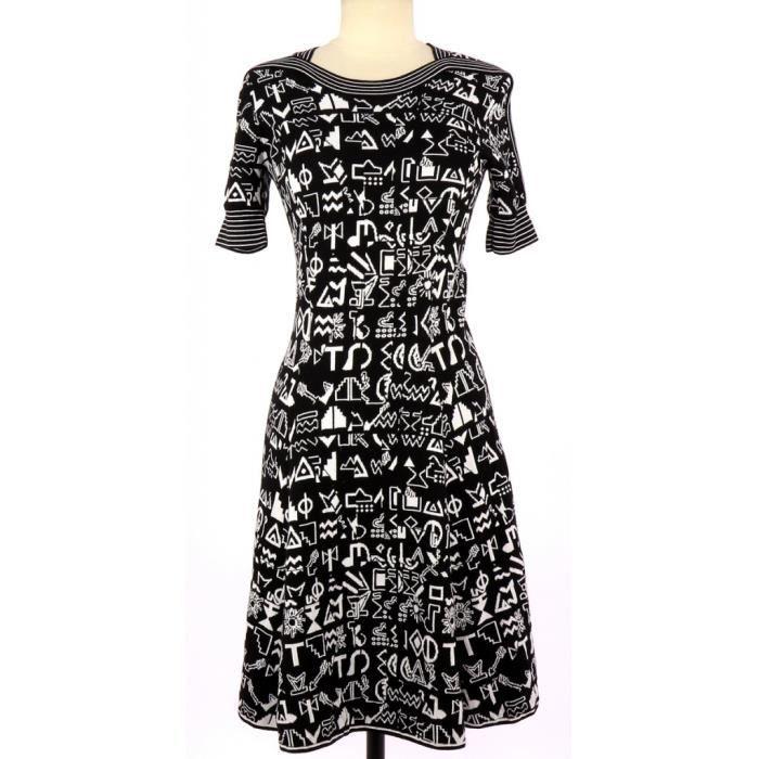 Robe KENZO S Noir Noir - Achat   Vente robe - Cdiscount 3fbaf937ef6