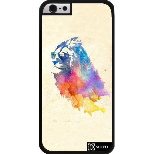 coque iphone 6 lion