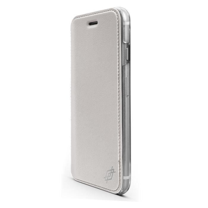 coque iphone 6 clapet transparent
