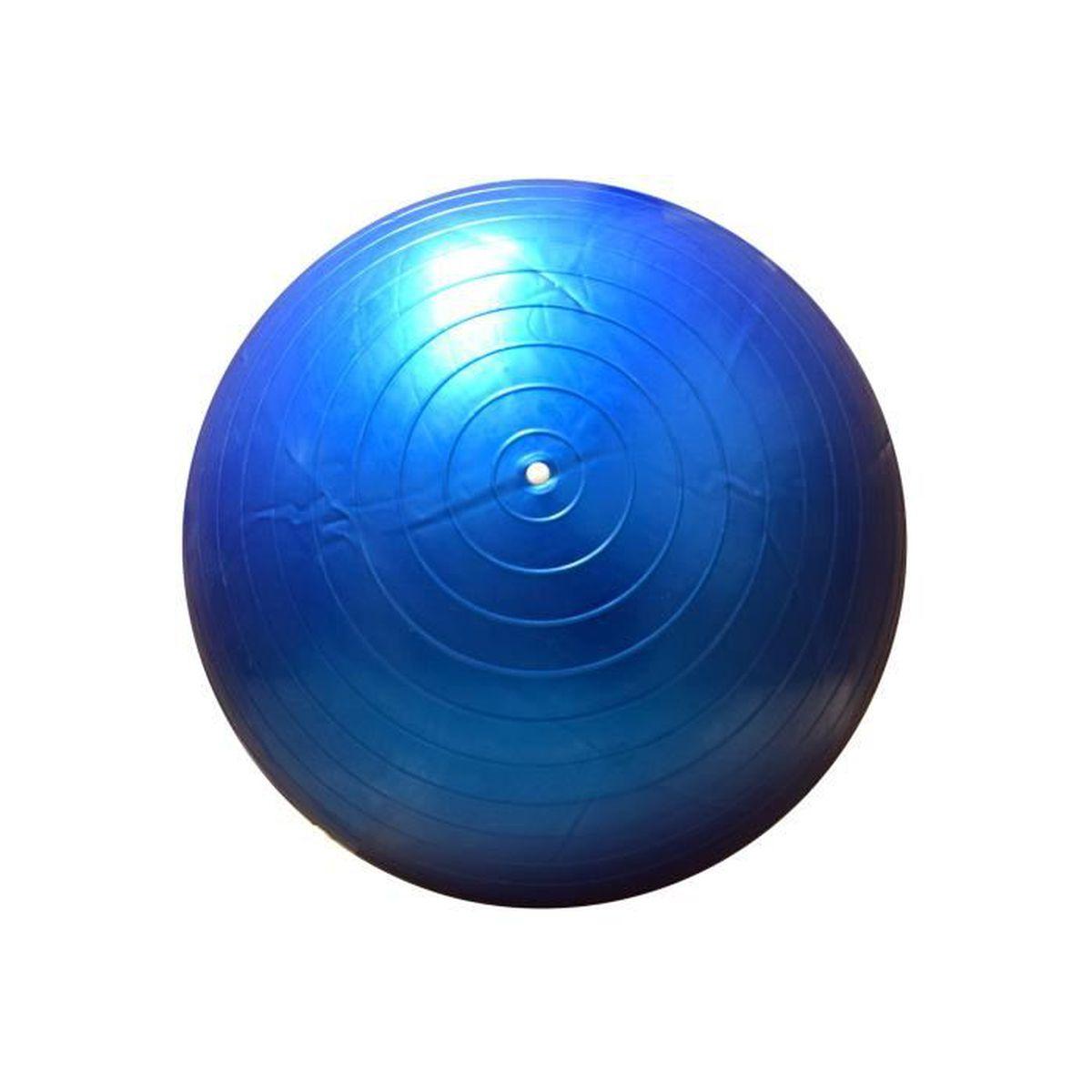 ballon de gym yoga pilates bleu phisiotherapie exercice entrainement