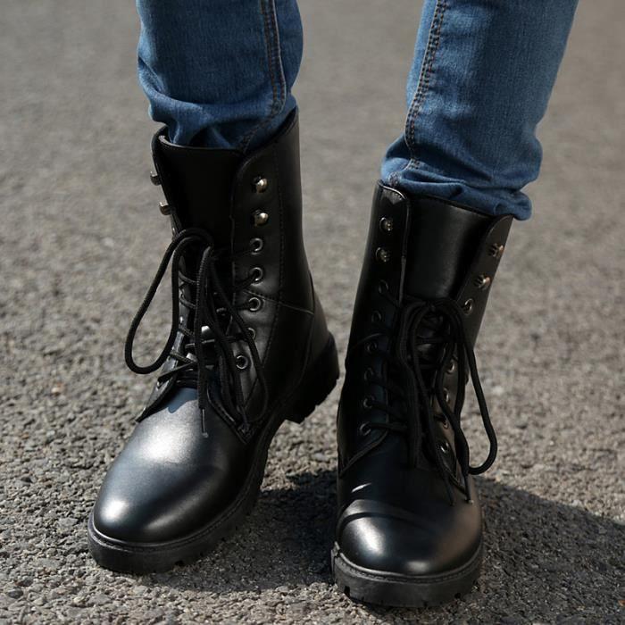 Bottes homme Bottes courtes Bottes cool Chaussures étanches Bottes mode Chaussures chaudement Chaussures montantes Chaussures TijZH8