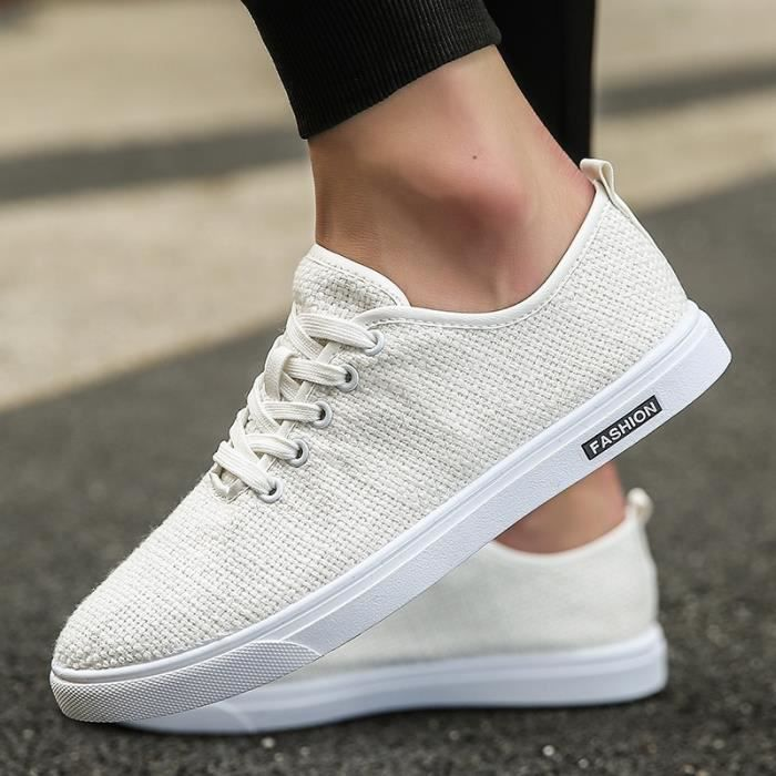 confortables Mode Mocassins de Respirant toile d'été Casual Chaussures Chaussures Chaussures Ultraléger Hommes Lazy Hommes qwzrPt6w