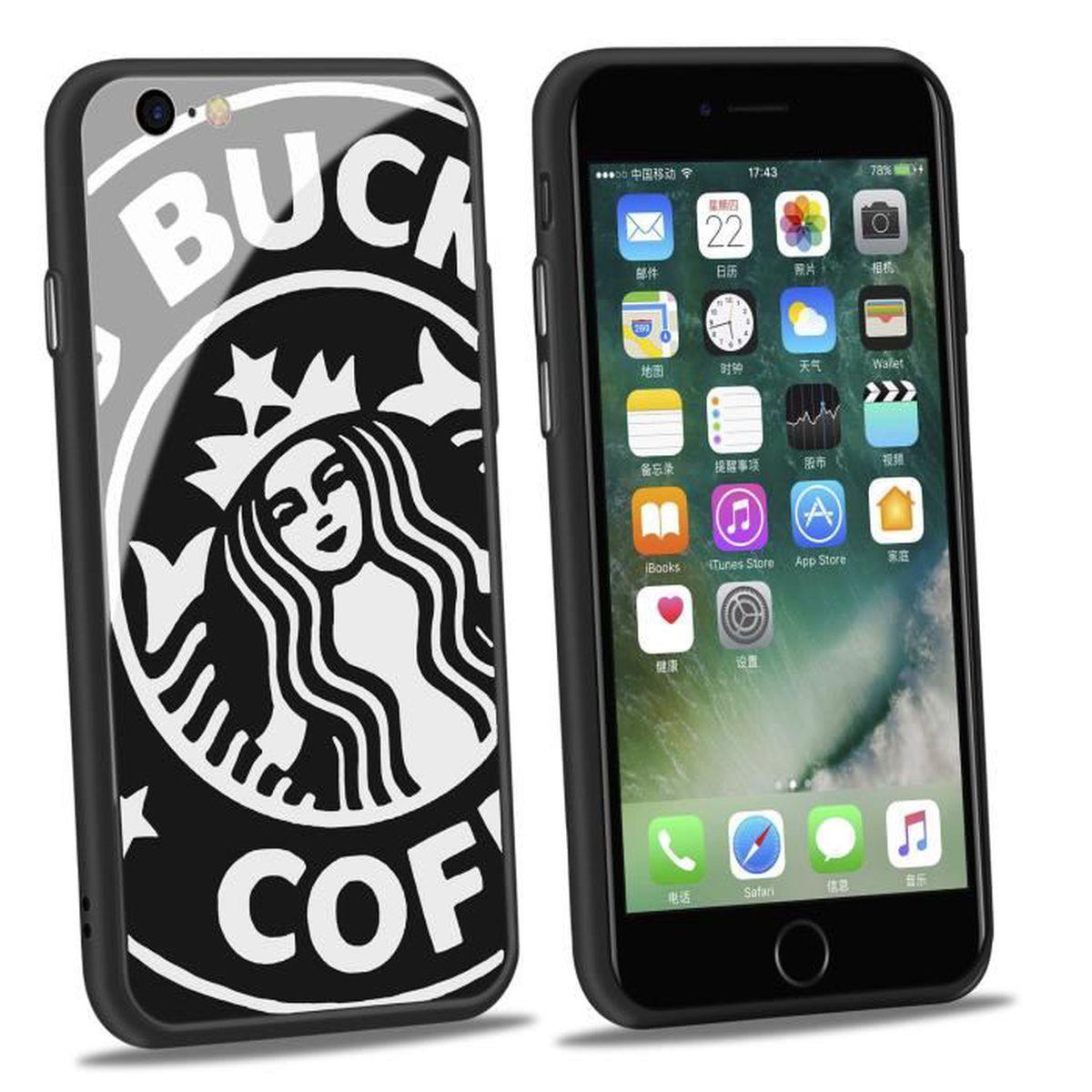 coques iphone 8 starbucks