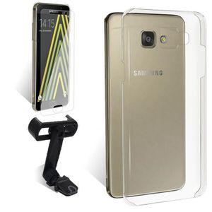 EXOPACK Support voiture Galaxy A5 Coque Film V.T