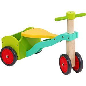 PORTEUR - POUSSEUR Tricycle «Nicolas» vélo en bois enfant 24 mois 2an