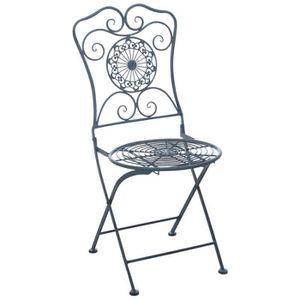 Lot de chaises de jardin metal pliante - Achat / Vente Lot de ...