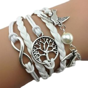 Bracelet 18 cm Cordon Noir Infini Argent - Achat   Vente bracelet ... 72822a9bd0df