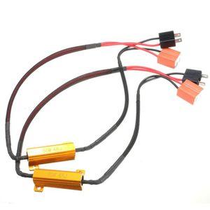 PHARES - OPTIQUES NEUFU 2x H7 Câble DRL Phare LED Feux Conversion Ré