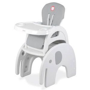CHAISE HAUTE  Chaise haute bébé évolutive et convertible ELI - 3