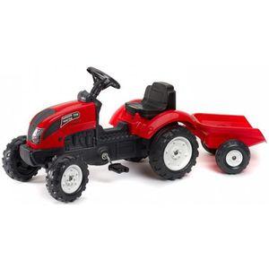 Tracteur a pedales pour enfant de 7 ans achat vente jeux et jouets pas chers - Tracteur remorque enfant ...