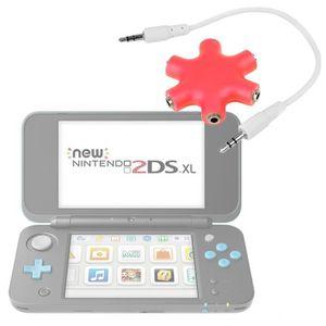 CONSOLE NEW 2DS XL Séparateur audio rouge pour console de jeux Ninten
