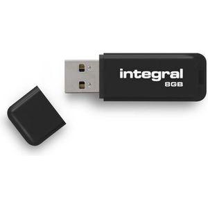 CLÉ USB Integral clé USB Neon 8Go Noir
