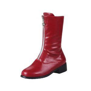 BOTTE Bottes Botte Ete Femme, Boot Long Femme Botte Caou