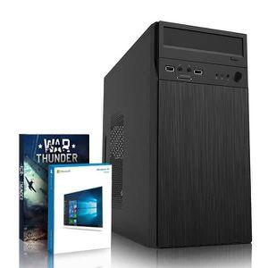 UNITÉ CENTRALE  VIBOX Target 18 PC Gamer Ordinateur avec War Thund
