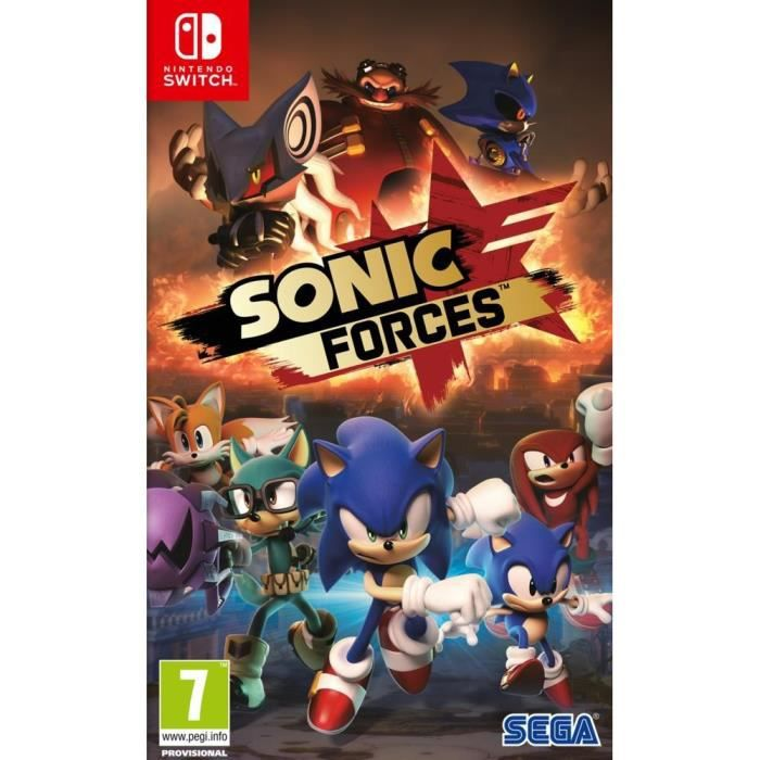 Sonic Forces Jeu Switch