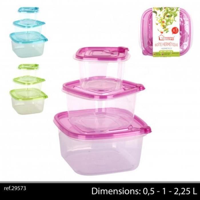 boite plastique hermetique alimentaire achat vente boite plastique hermetique alimentaire. Black Bedroom Furniture Sets. Home Design Ideas
