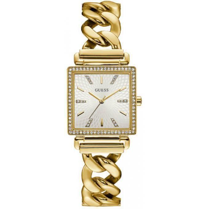 712f8088f6 Montre guess w1030l2 - montre carré cristaux or femme - Achat ...
