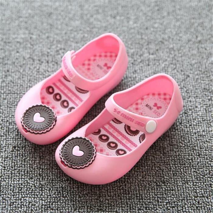 Sandales Fille Mode Nouvelle Chaussure Meilleure Qualité Doux Antidérapant Plus De Couleur Plage Mignon Sandale Plus Taille 24-29