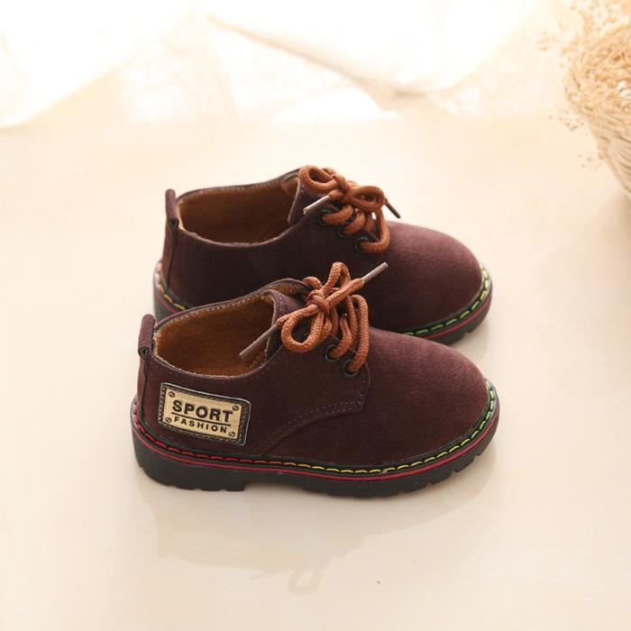 BOTTE Enfants Chaussures Mode Bébé Chaussures Wear-Resistant Martin Boys Filles Chaussures@CaféHM