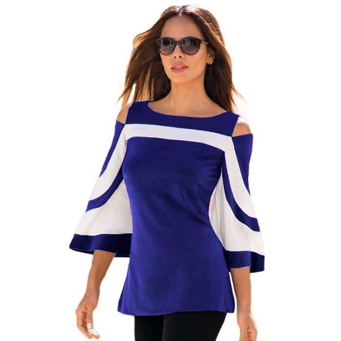 26635e09ef9 blouse-bicolore-femme-slim-fit-tops-col-ras-du-cou.jpg